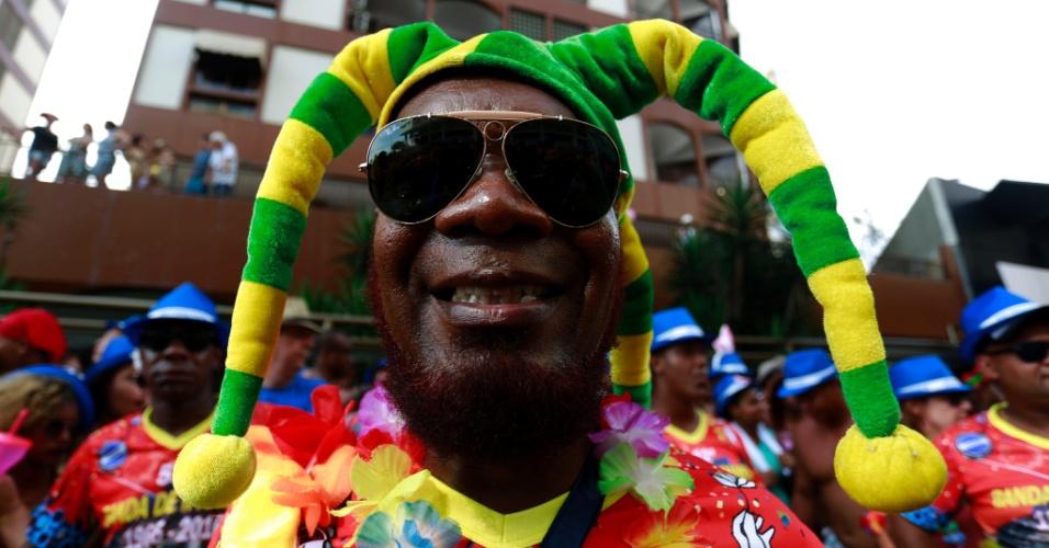 6.fev.2016 - Um dos blocos mais tradicionais do Rio de Janeiro, a Banda de Ipanema tem mais de 50 anos de história