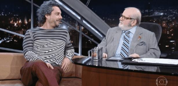Alexandre Nero reclama das intervenções de Jô Soares em entrevista - Reprodução/TV Globo