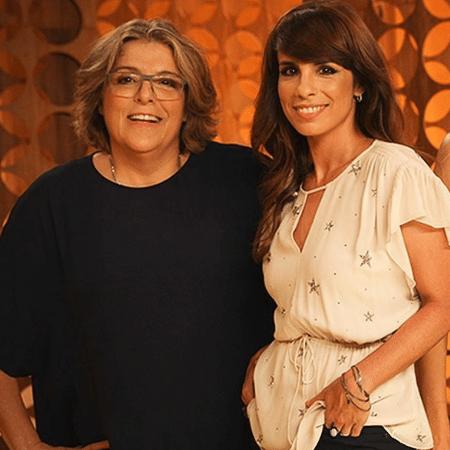 """Barbara Gancia e Maria Ribeiro deixaram o programa """"Saia Justa"""", do GNT, após discutirem - Reprodução/Instagram"""