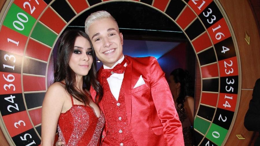 MC Gui e Luiza Cioni ficaram juntos por pouco mais de um ano - Francisco Cepeda/AgNews