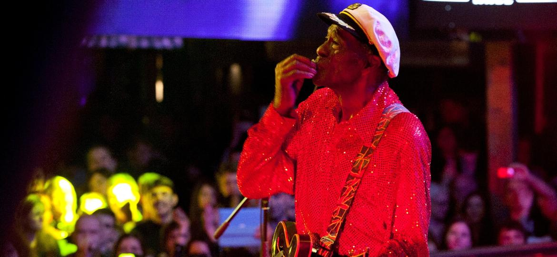 O guitarrista Chuck Berry, que morreu anos 90 anos - Vladimir Artev/Epsilon/Getty Images