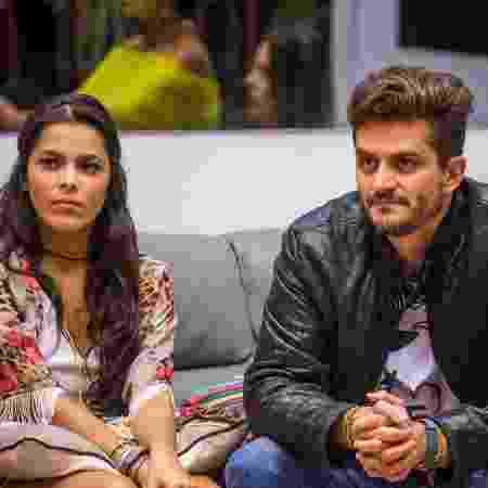 "Emilly e Marcos, participantes do ""BBB17"" - Paulo Belote/Divulgação/TV Globo - Paulo Belote/Divulgação/TV Globo"