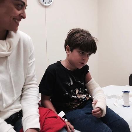 Juliana Paes e o filho Pedro - Instagram/Juliana Paes
