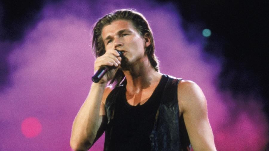 O cantor do A-ha, Morten Harket, no auge da banda, no final dos anos 80 - Divulgação
