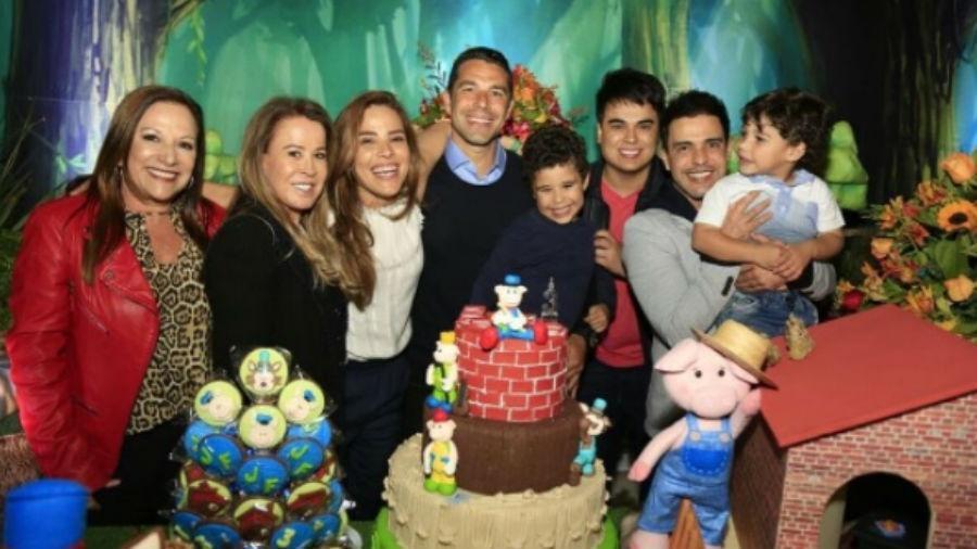 Wanessa reúne Zezé e Zilu em aniversário do filho - Reprodução/Instagram/wanessa