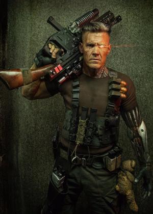 """O personagem Cable, interpretado por Josh Brolin, estará em """"Deadpool 2"""""""