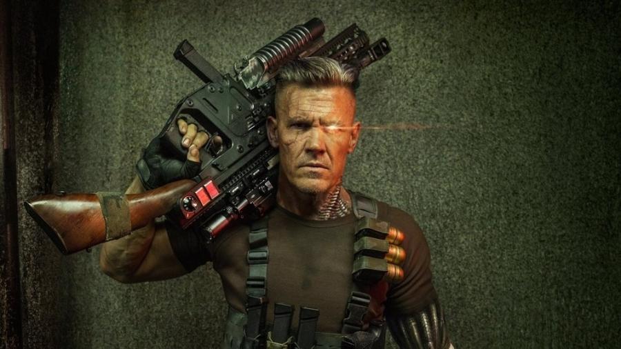 """O personagem Cable, interpretado por Josh Brolin, estará em """"Deadpool 2"""" - Divulgação"""