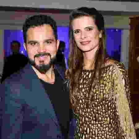 Luciano e Flavia Camargo - Deividi Correa/Ag.News