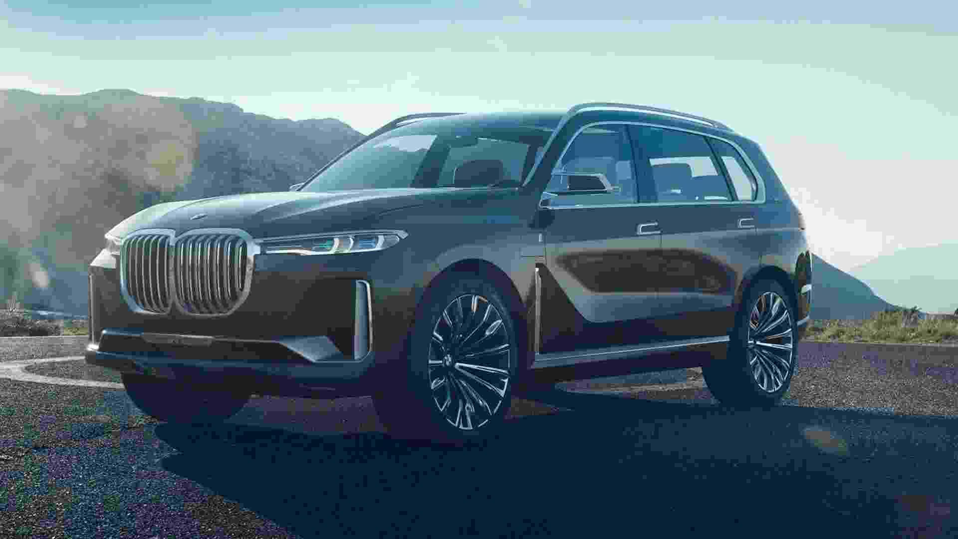 BMW X7 Concept - Divulgação