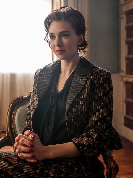 "Margaret (Vanessa Kirby) em cena da segunda temporada de ""The Crown"" - Robert Viglasky/Netflix"
