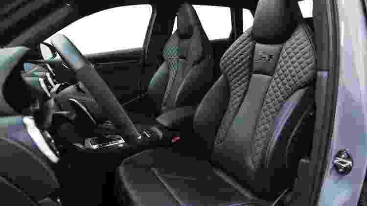 Audi RS 3 Sedan bancos - Divulgação - Divulgação