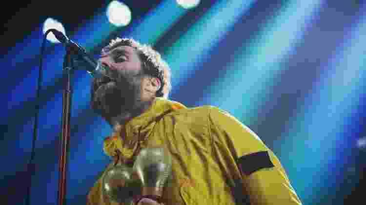 O cantor Liam Gallagher - Reprodução - Reprodução