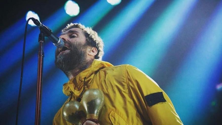 O cantor Liam Gallagher - Reprodução