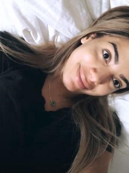 Anitta em hotel de Boston momentos antes de sua palestra em Harvard - Reprodução/Instagram/@anitta