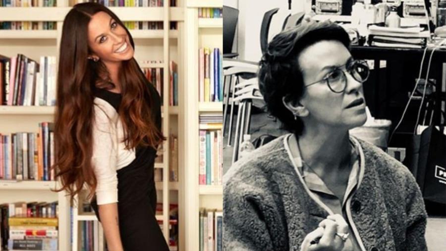 O antes e depois de Alanis Morissette - Reprodução/Instagram