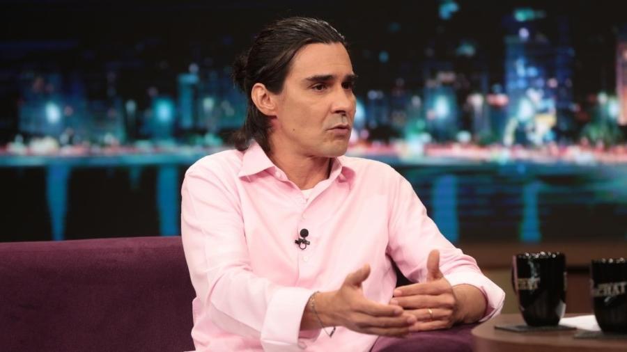 """André Gonçalves foi entrevistado no """"Programa do Porchat"""" - Antonio Chahestian/Record TV"""