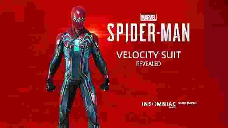 Spider-Man Velocity Suit - Reprodução - Reprodução