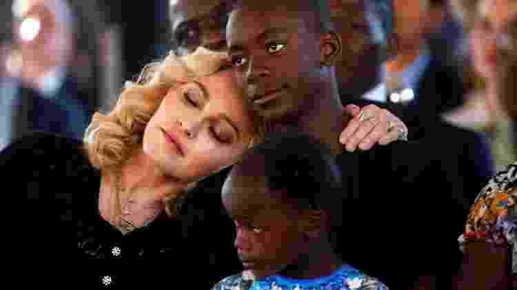 Madonna coms eus filhos em uma inauguração de um hospital no Malaui - Siphiwe Sibeko/Reuters - Siphiwe Sibeko/Reuters