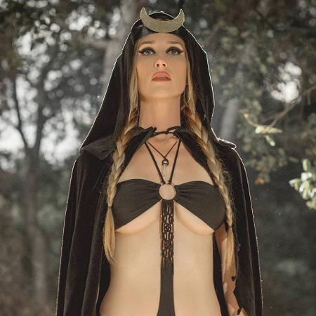 Jill Janus, vocalista do Huntress - Reprodução/Facebook