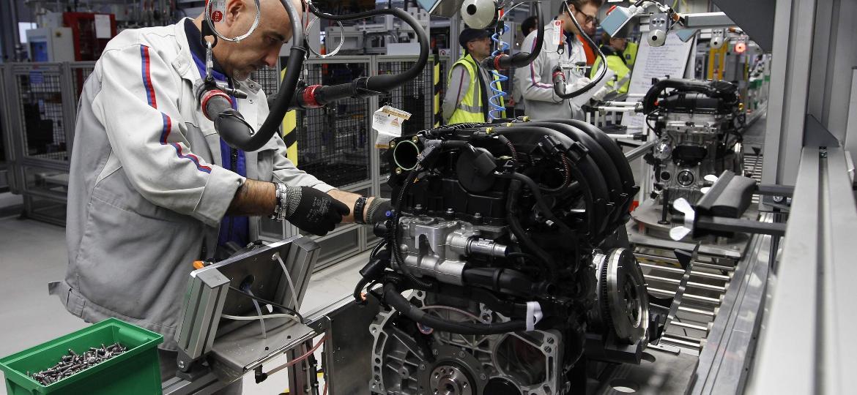 Na imagem, fábrica francesa de motores da PSA: espera-se que novo ciclo aumente opções aqui no Brasil - Vincent Kessler/Reuters