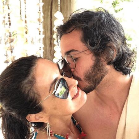Túlio Gadêlha com Fátima Bernardes - Reprodução/Instagram