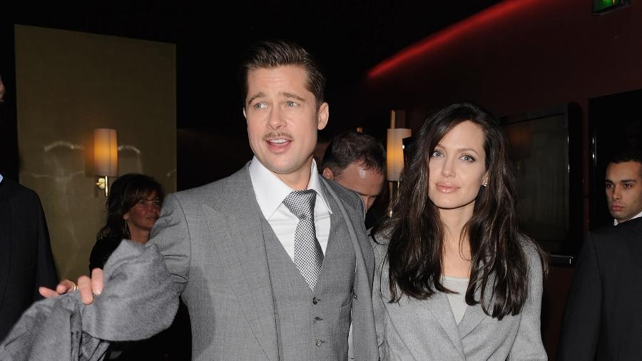 Brad Pitt e Angelina Jolie - Getty Images