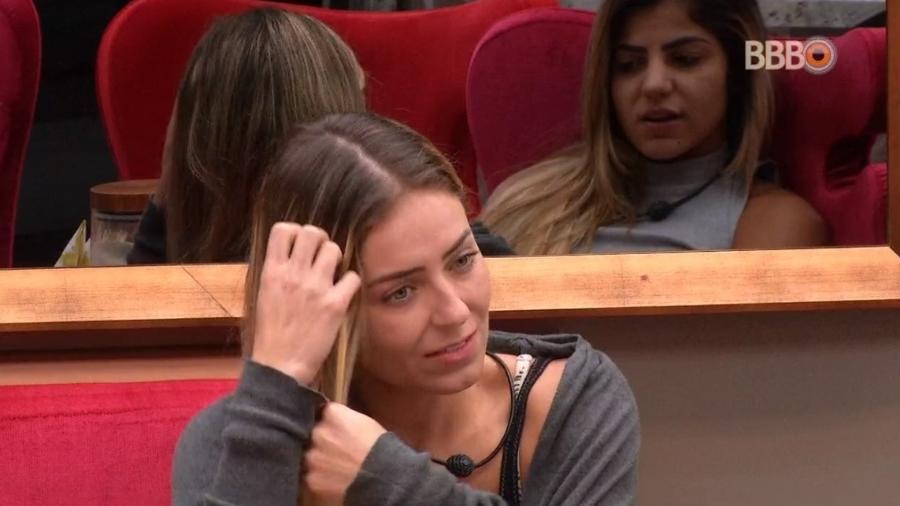 Paula fala sobre próximo paredão - Reprodução/Globoplay