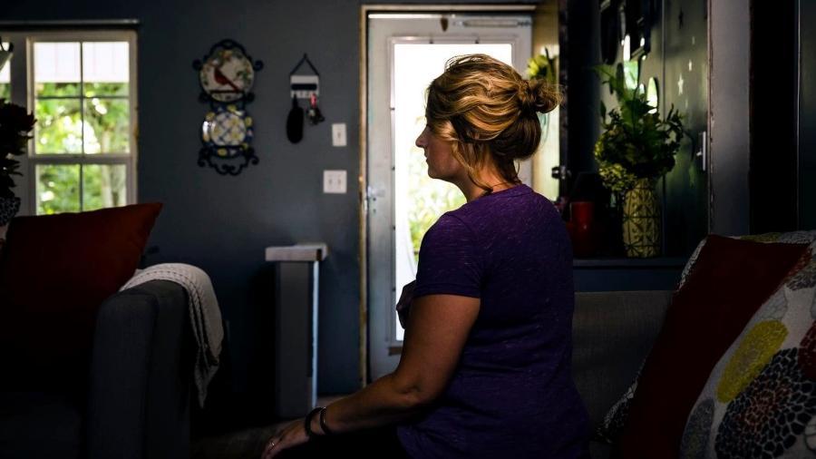Jessica Stallings afirma ter engravidado quatro vezes através de estupros do tio - Audra Melton/Washington Post