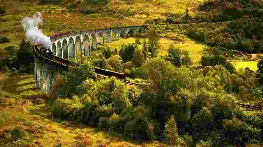 """A empresa The Jacobite promove o expresso de Hogwarts da """"vida real"""" - Getty Images/iStockphoto"""