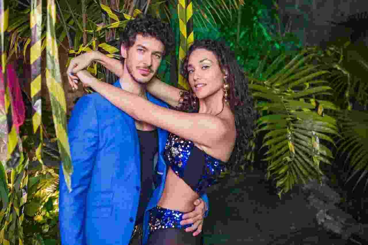 Débora Nascimento com o novo namorado, o médico Luiz Perez - Divulgação