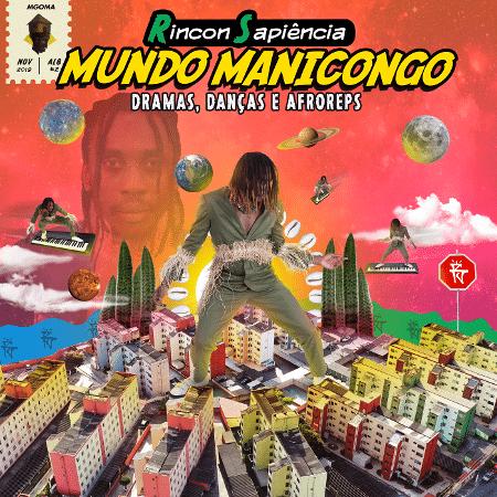 """Capa de """"Mundo Manicongo: Dramas, Danças e Afroreps"""" - Divulgação"""