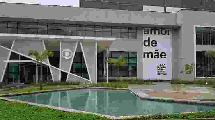 Fachada do novo estúdio da Globo, onde é gravada Amor de Mãe - UOL