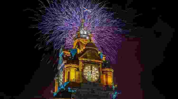 The Balmoral Hotel oferece a festa de Ano Novo mais famosa de Edimburgo, na Escócia - Brett Young/Rocco Forte Hotels