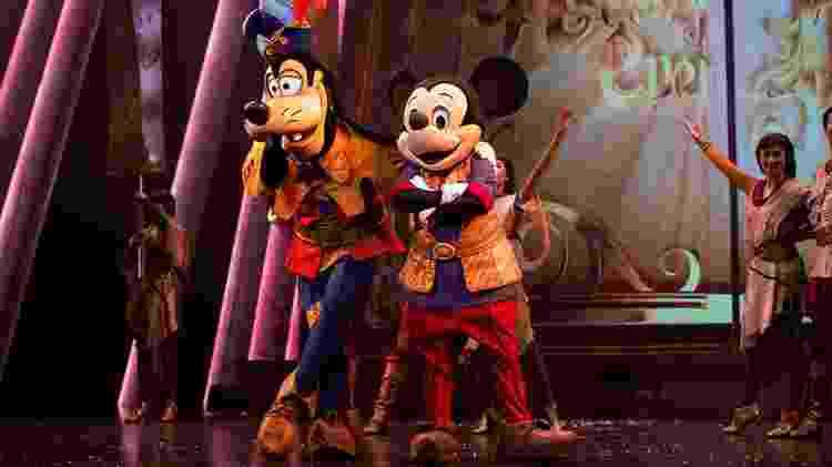 Mickey e Pateta, no Hong Kong Disneyland Resort  - Divulgação - Divulgação