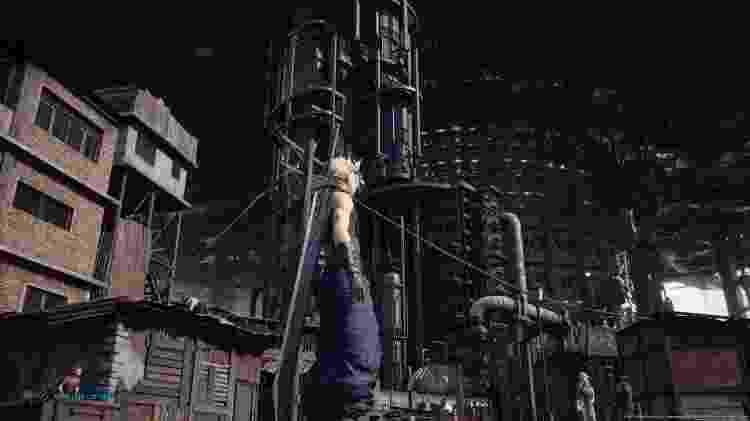 FF VII remake cidade baixa 7 - Reprodução - Reprodução