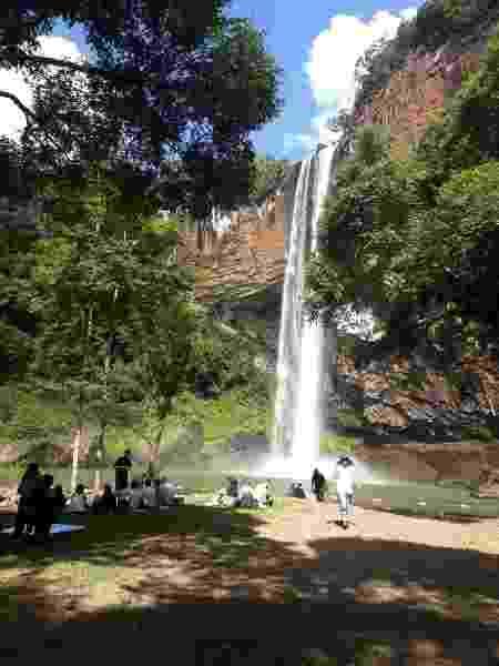 Camping Cascata do Chuvisqueiro, em Riozinho (Rio Grande do Sul) - Divulgação - Divulgação