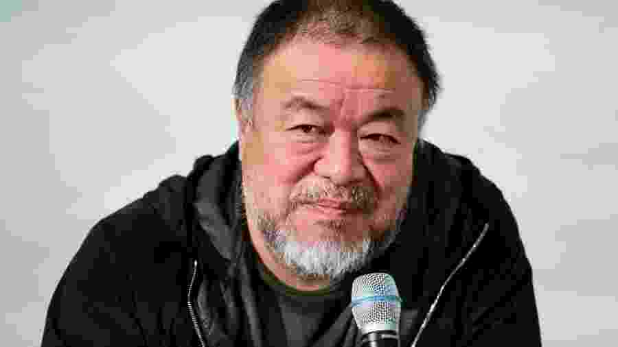11.02.2020 - Ai Weiwei fala em evento em Berlim (Alemanha) - DPA/Picture Alliance via Getty Images