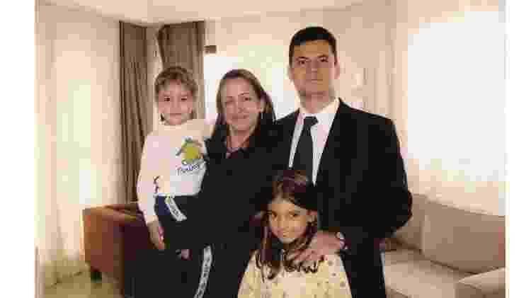 Rosangela e Sergio Moro com os filhos - Reprodução - Reprodução