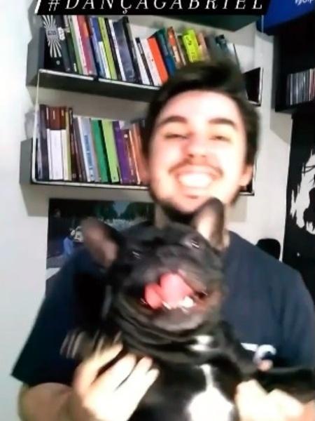 Lucas Pontes de Andrade dança em apoio a Gabriel - Reprodução/ Instagram