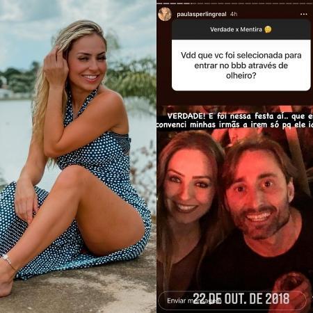 Ex-BBB Paula contou que foi selecionada através de olheiro para o reality - Reprodução/Instagram