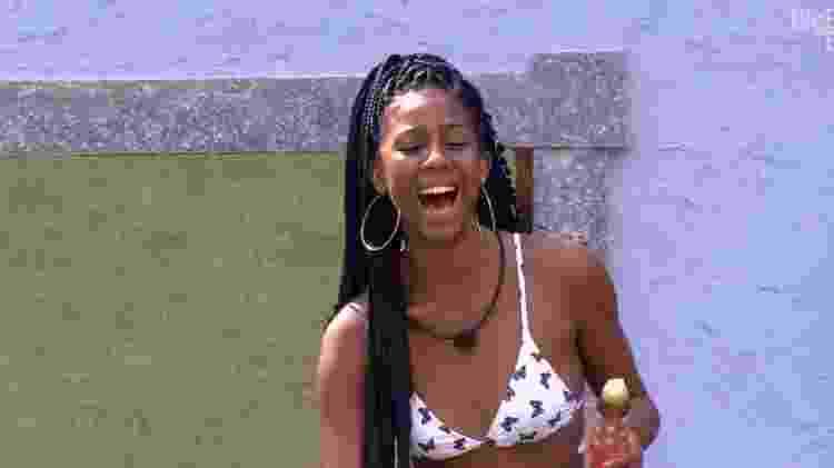 BBB 21: Camilla de Lucas em sua primeira semana na casa - Reprodução/Globoplay - Reprodução/Globoplay