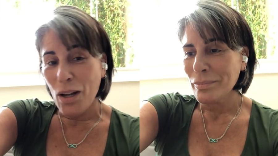 Gloria Pires canta música nas redes sociais - Reprodução/Instagram
