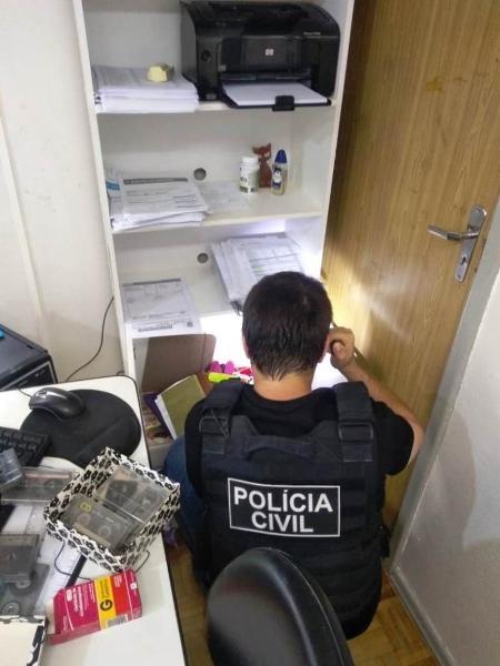 Polícia apura se suspeito fez uso de remédios para dopar vítimas - Polícia Civil do RS/Divulgação