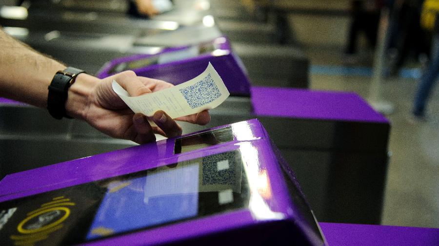 A partir de hoje, apenas bilhetes com códigos QR serão vendidos nas bilheterias de trens e metrô de São Paulo - Divulgação