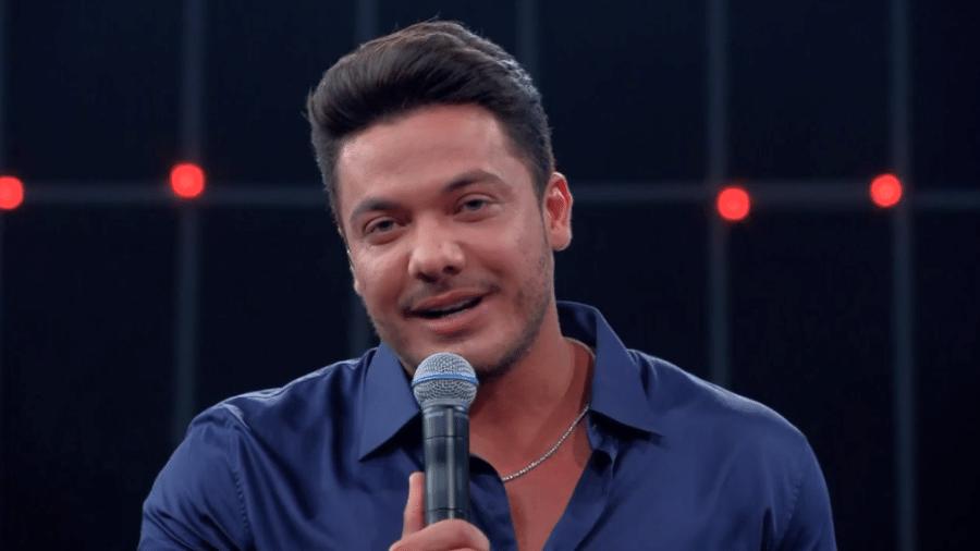 """Wesley Safadão faz homenagem para a mulher em participação no """"Caldeirão do Huck"""" - Reprodução/TV Globo"""