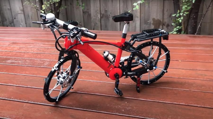 Bicicleta de LEGO - Divulgação