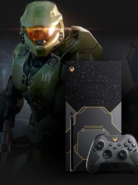 Xbox Series X Edição Halo - Divulgação/Microsoft