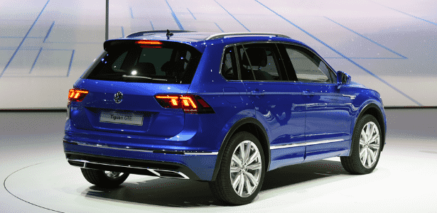 Volkswagen Tiguan GTE 2016 - Murilo Góes/UOL - Murilo Góes/UOL