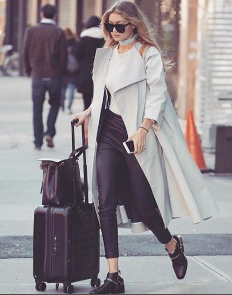 Moda de rua: looks de Gigi Hadid