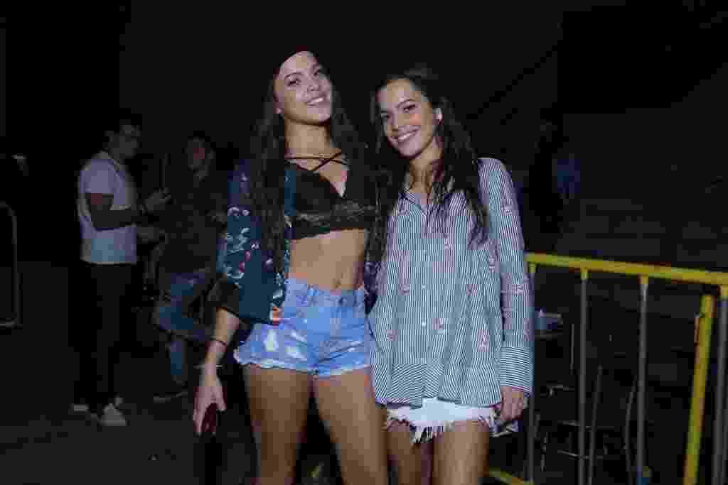 Ex-BBBs Emilly e Mayla prestigiam show da dupla sertaneja Matheus e Kauan no Rio de Janeiro - Ag.News
